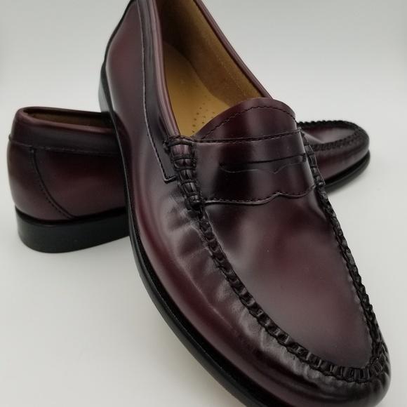 1d11cf6c9b9 Bass Shoes - Bass Weejuns womens burgundy size 8